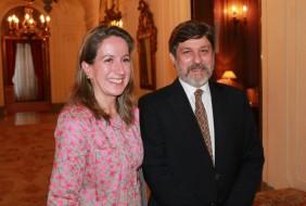 Encuentro con el Embajador de Brasil